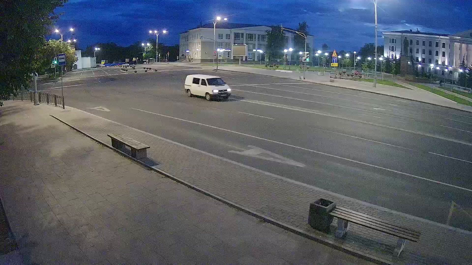 Webcam square Lenina, Pskov, Russia